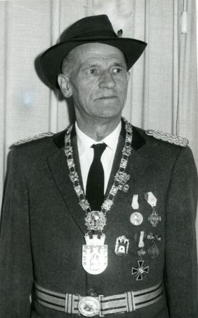 Hans Strüber, Schützenkönig 1959