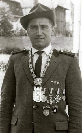 Hans Anhalt, Schützenkönig 1960