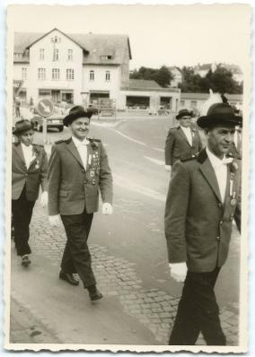 Schützenfest in Montabaur 1963