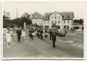Schützenfest in Montabaur 1963, Fanfarenzug der Feuerwehr