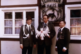 Wolfgang Günster, Schützenkönig 1974