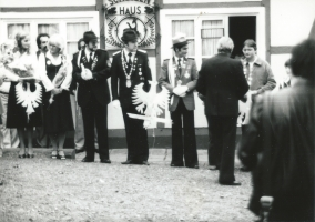 Werner Hüging, Schützenkönig 1981