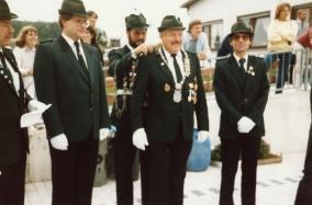Horst Klöckner, Schützenkönig 1985