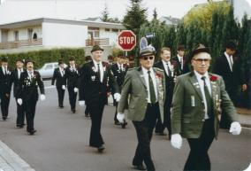 Festumzug zum alten Schützenhaus am Strandbad, 1985