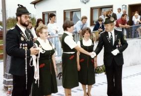 Schützenfest 1985, Abdankung der Majestäten 1984-1985