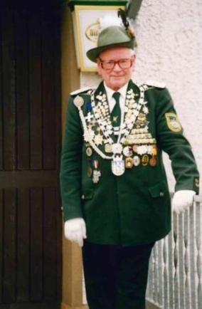 Fred Müller, Schützenkönig 1994