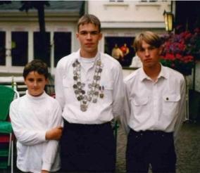 Mathias Labitzke, Jungschützenkönig 1995