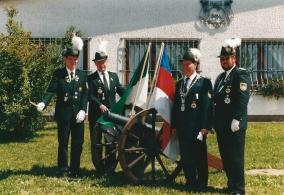 Horst Wengler, Schützenkönig 1996