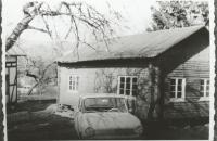 Transport des alten Schützenhaus vom Sägewerk Rasselstein 1
