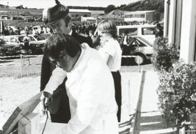 Der Chef mit Steinmetz Kiefer