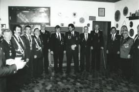 Norbert Keller, Schützenkönig 1992 beim Kaiserschießen 1992
