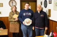 Neujahrsschießen 2020: Patric Steffen, Sieger Ehrenscheibe Pistole