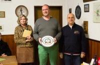 Neujahrsschießen 2020: Frank Speier, Sieger Ehrenscheibe Gewehr