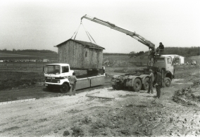 Im Häusertransport sind wir bereits seit 1967 geübt
