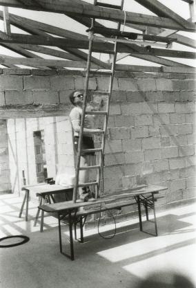 Kann mal jemand die Leiter festhalten?