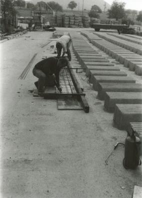 Bau der Schießblenden